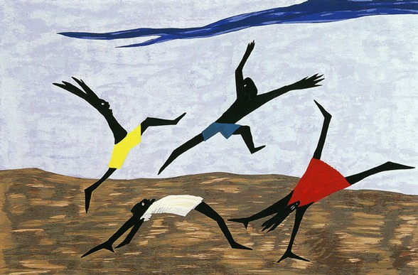 Jacob_Lawrence_Play_1999